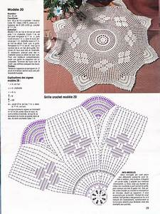 Simple Doily With Diagram