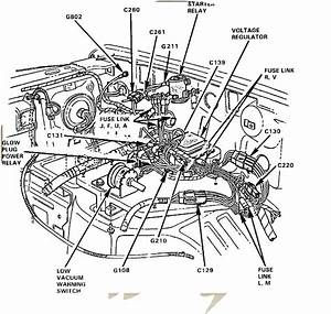 Ford Glow Plug Relay Wiring Diagram