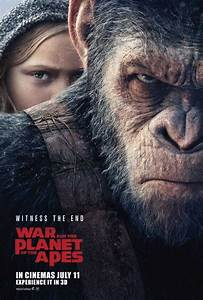 war_for_planet_of_apes_movie_poster - Forbidden Planet Blog