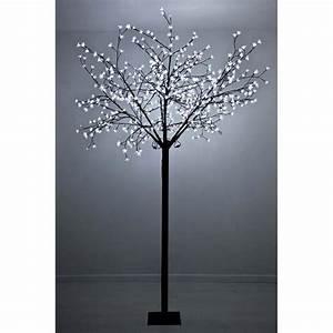 arbre lumineux a led blanc froid achat vente arbre With eclairage exterieur pour arbre 4 decoration olivier exterieur