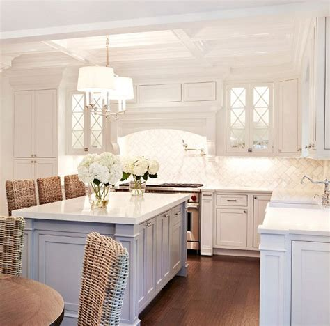 white kitchen with gray island 38 best images about color trends 2016 on 1835