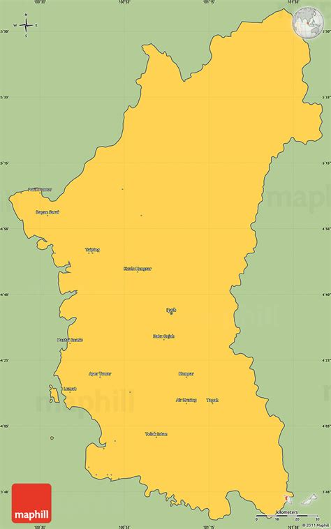 savanna style simple map  perak cropped