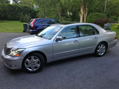 lexus sedan 2004 buy used 2004 lexus ls430 base sedan 4 door 4 3l best