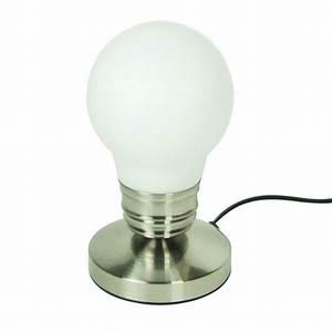 Lampe Variateur De Lumiere : lampe ampoule tactile avec variateur de lumi re maison fut e ~ Dailycaller-alerts.com Idées de Décoration