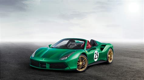 488 Spider 4k Wallpapers by 2017 488 Spider The Green 4k Wallpaper Hd