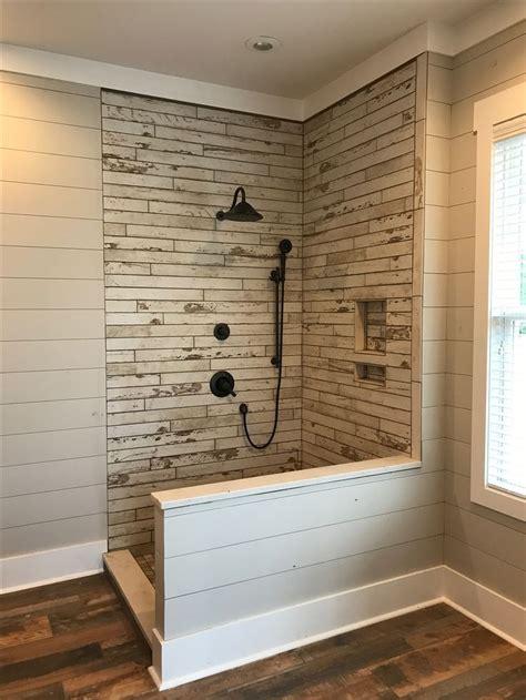 master shower   glass tile   chippy