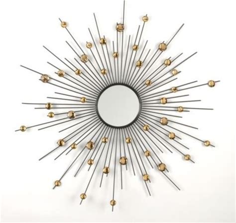 Floor Lamps At Walmart by Acrylic Sunburst Mirror Modern Wall Mirrors By