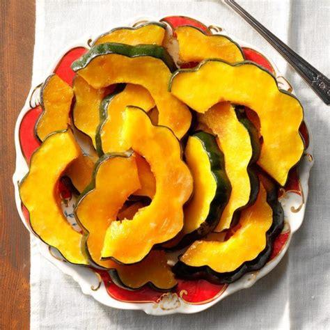 squash acorn fryer air slices recipes recipe taste tasteofhome candied easy thanksgiving sugar brown sides