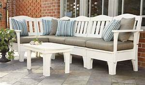 Commercial outdoor sofa sets lounge furniture bar for Commercial outdoor sectional sofa