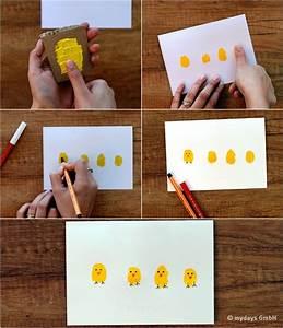 Osterkarten Basteln Mit Kindern : so einfach geht 39 s diy osterkarten selber basteln bastelideen ostern basteln und ~ Eleganceandgraceweddings.com Haus und Dekorationen