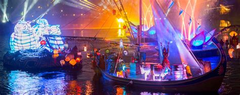 rivers of light rivers of light dining package walt disney world resort