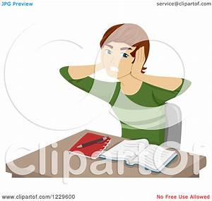 School Boy Frustrated Clipart - Clipart Kid