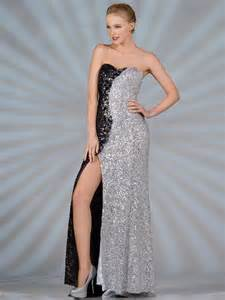 Similiar Black And Silver Prom Dresses Keywords