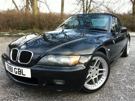 Used Bmw Z3 Petrol 1.9 2dr Auto Convertible Black Edition