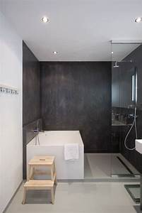 Salle De Bain Moderne 2017 : id e d coration salle de bain les murs en b ton de cette ~ Melissatoandfro.com Idées de Décoration