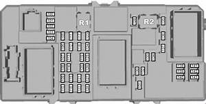 Ford Focus  2004 - 2010  - Fuse Box Diagram