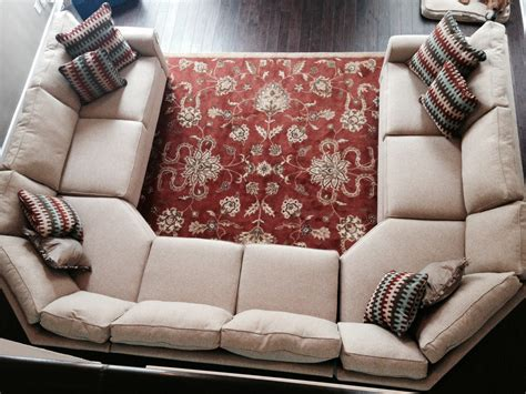 u shaped sectional with ottoman our new sofa inspired by the crate and barrel u shaped
