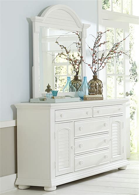 summer house oyster white panel storage bedroom set from