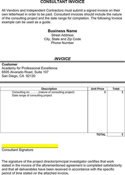 Consultant Invoice Template Word Uk by Consultant Invoice Template Templates Forms Pinterest