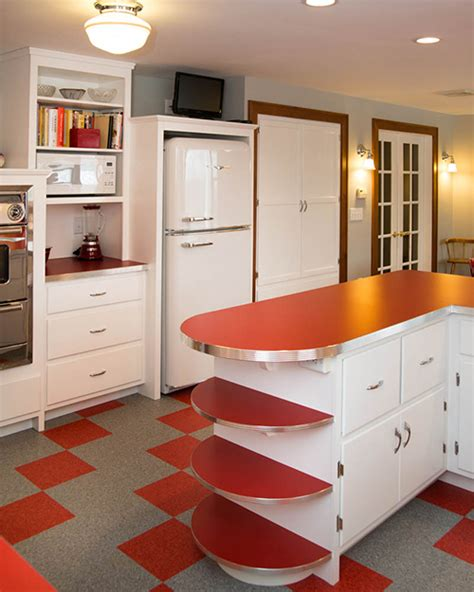 Vintage Kitchen Appliance Colors A Retro Inspired Kitchen New Hshire Home September October 2014