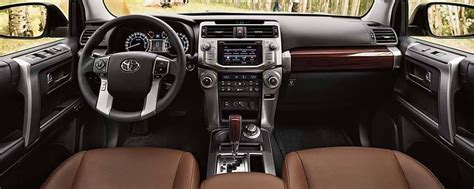 Toyota 4runner Interior by 2017 Toyota 4runner Interior Features And Accommodations