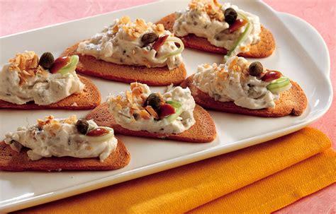 ricette cucina italiana antipasti ricetta crostini con crema di formaggi le ricette de la