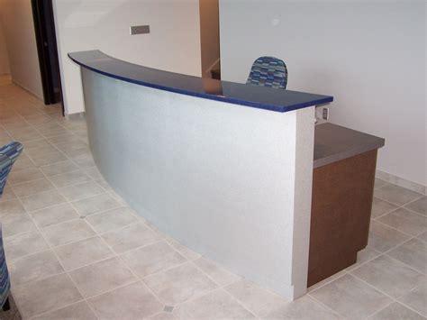 custom reception desk custom made reception desk by mica shop custommade