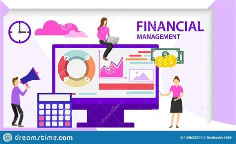 financial management concept project management financial