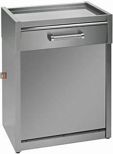 Meuble Plan De Travail : meuble avec plan de travail inox 70cm pour lave vaisselle pose libre steel cucine ste1700 mon ~ Teatrodelosmanantiales.com Idées de Décoration