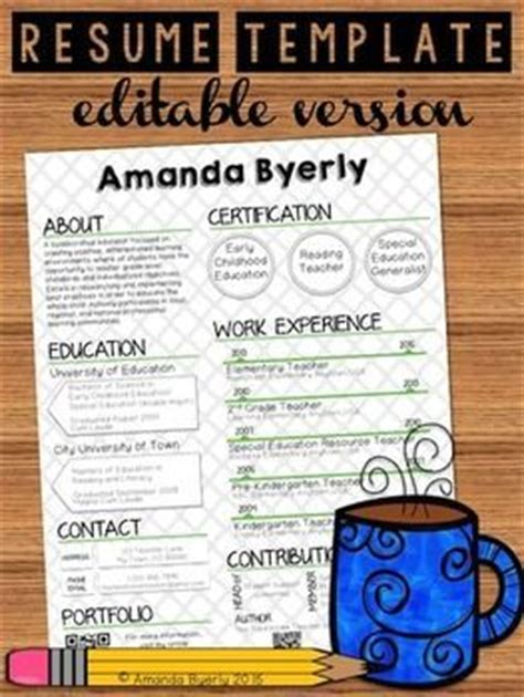 Free Creative Resume Templates For Teachers by 1000 Ideas About Resumes On Resume Template Teaching Resume And