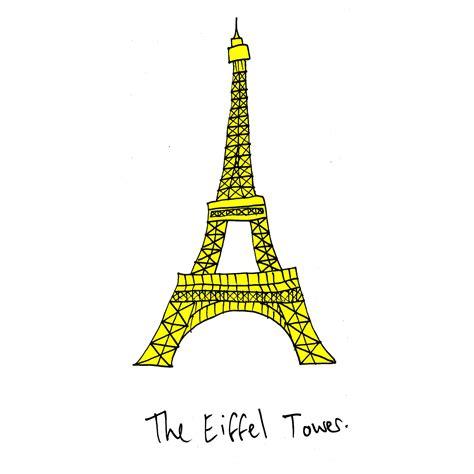 Eiffel Tower Drawing Simple For Kids Wwwimgkidcom