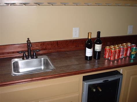 wood look countertops fabulous wood look tile countertops ideas with single