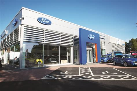 New Ford Showroom Opens After £5 Million Investment