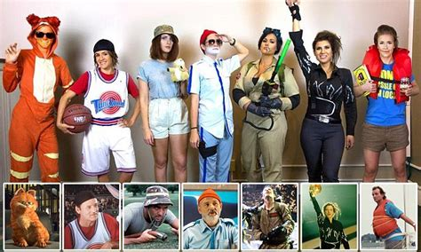 Friends Dress As Different Versions Of Bill Murray In The