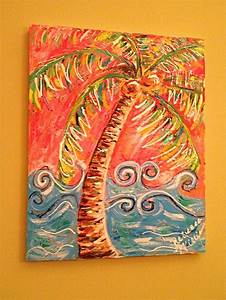 image result for acrylic heart paintings with two canvas With best brand of paint for kitchen cabinets with palm tree canvas wall art