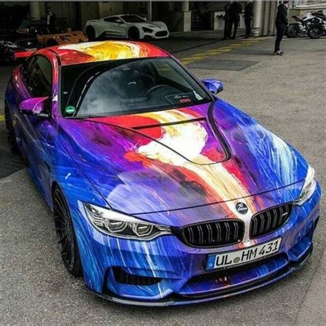 Expensive Cars With Exotic Paint Jobs  The Tango