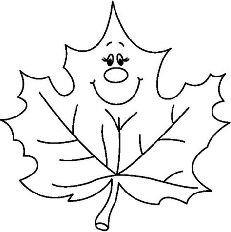 leaves coloring page part 2 crafts and worksheets for 542 | LEAF1 BW thumb