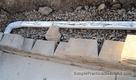 how to build drainage for retaining wall a small retaining wall simple practical beautiful