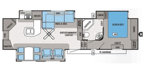 2013 Jayco Fifth Wheel Floor Plans by 2013 Jayco Eagle Fifth Wheel Series M 33 5 Rkts Specs And