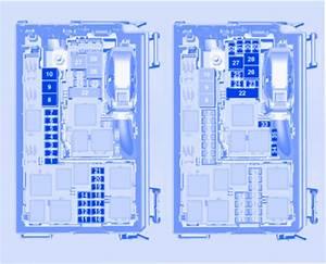 Vauxhall Meriva B 2012 Engine Compartment Fuse Box    Block
