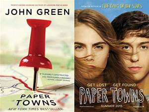 Paper towns novel review