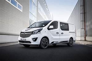 Opel Vivaro Sport Gives Big Van A More Aggressive Look
