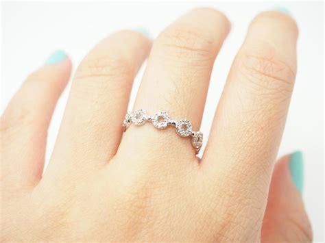 silver simple circles ring vintage ring cute ring