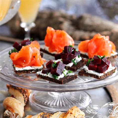 best canapes recipes for 10 of the best festive canapés