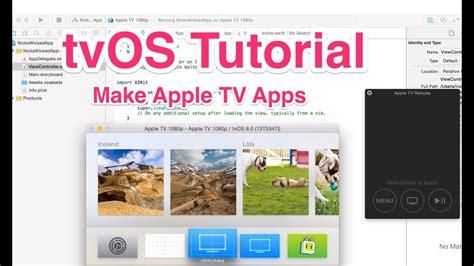 tvos tutorial  apple tv apps youtube