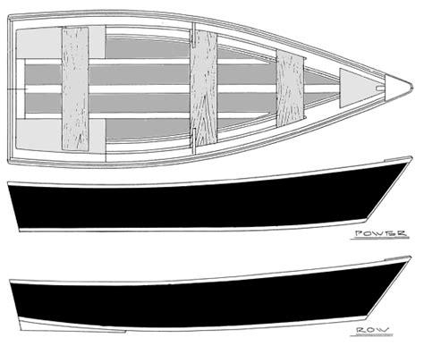 Flat Bottom Plywood Boat Plans by 11 15 Power Row Skiffs Flat Bottom Skiffs Boatdesign
