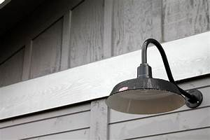 Vintage outdoor barn lights sconce black