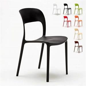 Chaise Bar Cuisine : chaise en polypropyl ne color cuisine maison bar restaurant design restaurant ~ Teatrodelosmanantiales.com Idées de Décoration