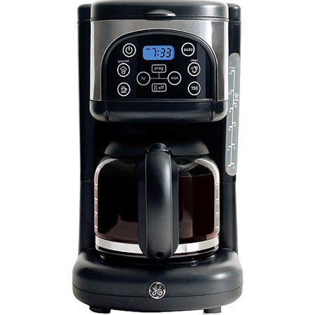 Large coffee makers tend to underperform when used to extract a small. GE 12-Cup Gourmet Coffee Maker - Walmart.com