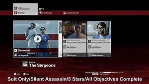 Hitman: Elusive Target #21 ''The Surgeons'' (Suit Only ...